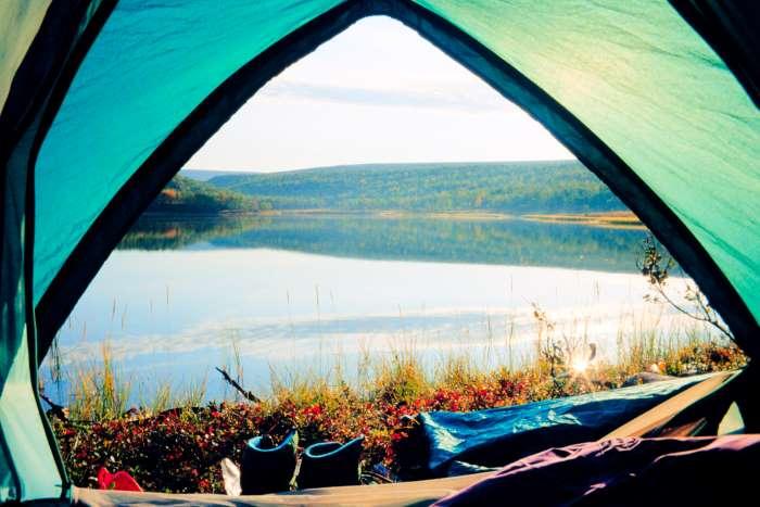 si può fare campeggio libero?