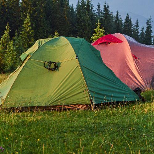 tenda da escursionismo semi autoportante