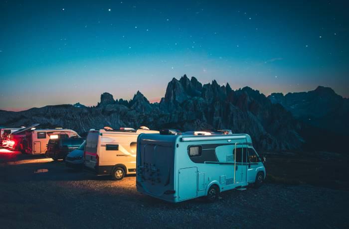 migliori posti per camping in Italia. In tenda e in camper