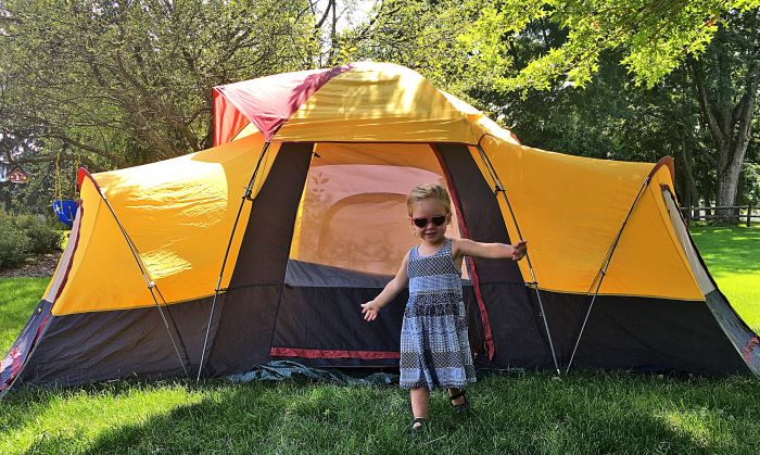come funziona il campeggio